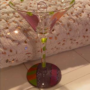""" Lolita "" martini glass"